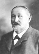 """Der Gründer der """"Sonnenbräu AG"""", Eduard Graf, geb. 1845, Gemeindeschreiber und Gemeindeammann von Rebstein, gest. 1918"""