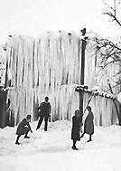Eisgalgen - Bis 1910 kühlte man das Bier mit Natureis